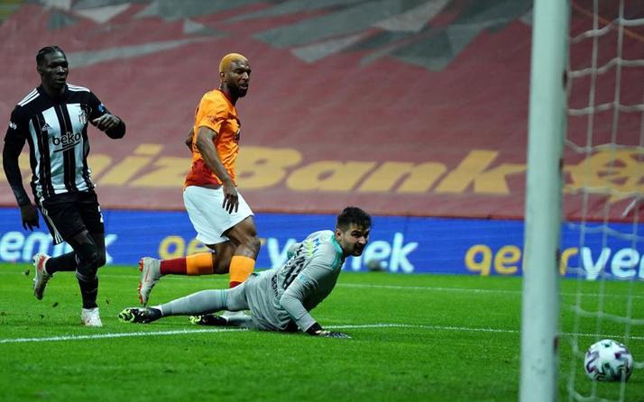 Galatasaray-Beşiktaş Süper Lig maç sonucu: 3-1
