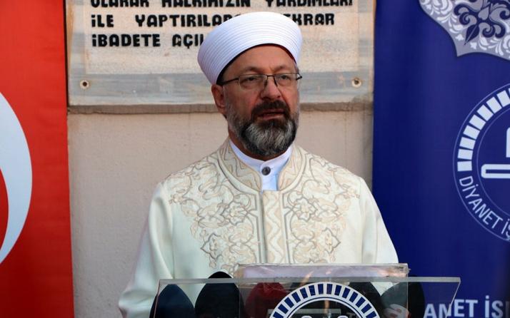 Ali Erbaş: Yaktığınız terör ateşi cehenneminiz olacak