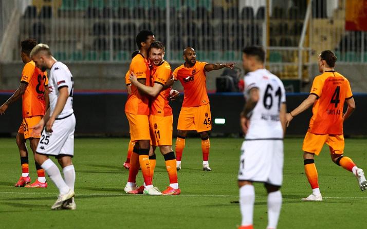 Denizlispor- Galatasaray Süper Lig maç sonucu: 1-4