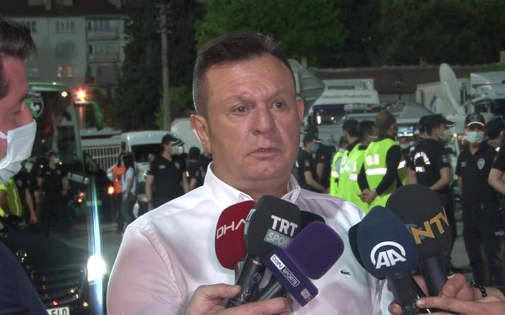 """Galatasaray maçı sonrası tepki: """"Keşke takımı sahadan çekebilseydik"""""""