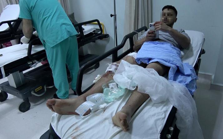 Samsun İlkadım'da bayram kutlayan maganda kendisini ve arkadaşını yaraladı