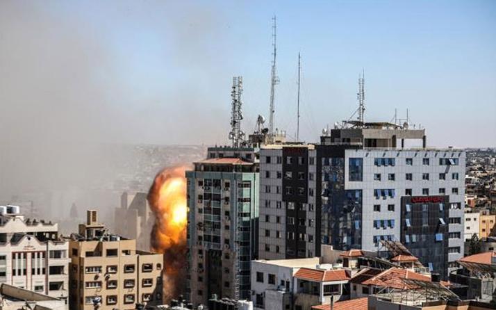 ABD'den medya kuruluşlarının olduğu binayı vuran İsrail'e uyarı