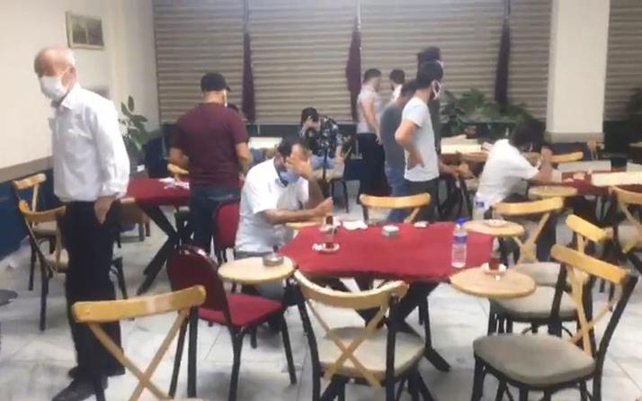 Uslanmıyorlar! Daha önce 3 kez basılan kafede oyun oynayan 25 kişiye 86 bin lira ceza