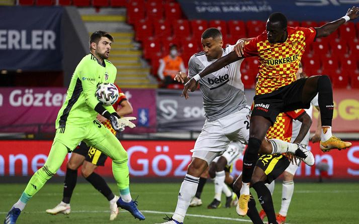 Göztepe- Beşiktaş Süper Lig maç sonucu: 1-2