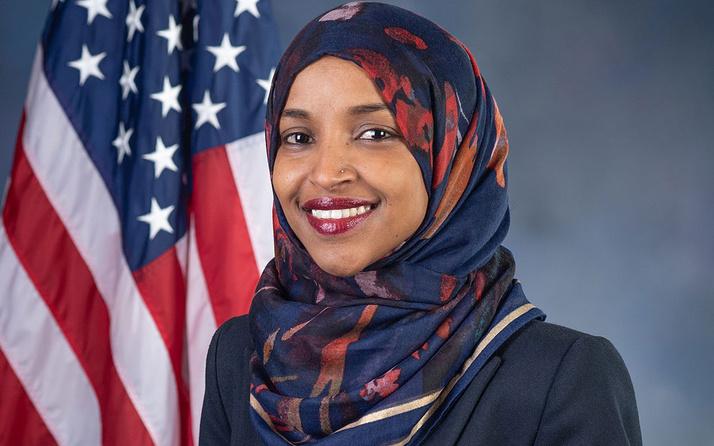 ABD'li Kongre üyesi Omar'dan, Biden'a tepki: İsrail'e destek mide bulandırıcı ve ahlak dışı