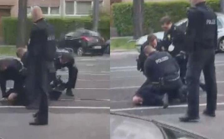 Alman polisinden Türk vatandaşına şiddet! Türkiye'den peş peşe sert tepkiler...