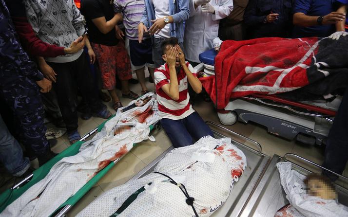 İsrail saldırısında ailesinden geriye sadece beş aylık bebeği kaldı