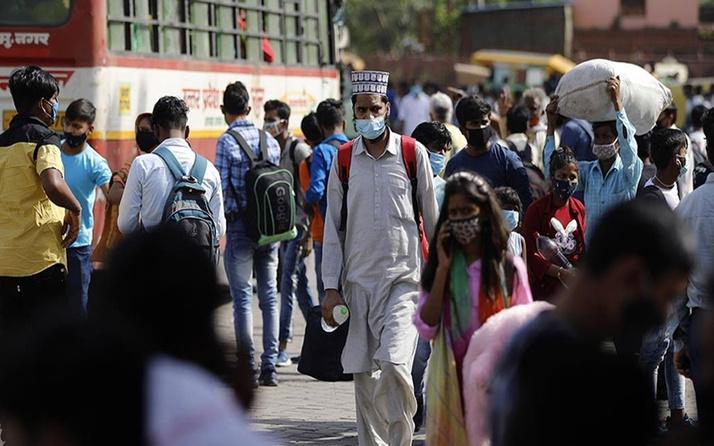 Durum vahim! Hindistan'da Kovid-19 vaka sayısı 25 milyona yaklaştı