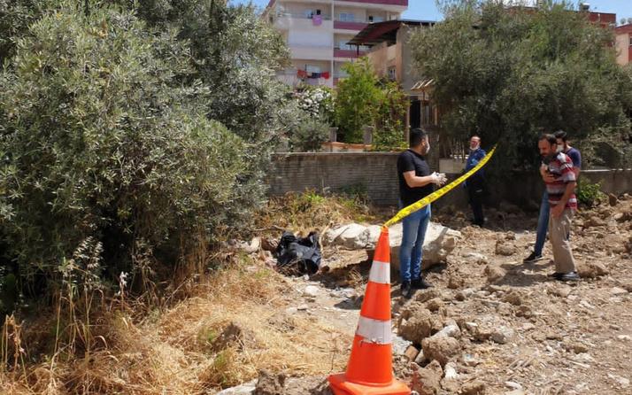 Mersin'de inşaatta kadın cesedi bulundu! Görenler polise haber verdi