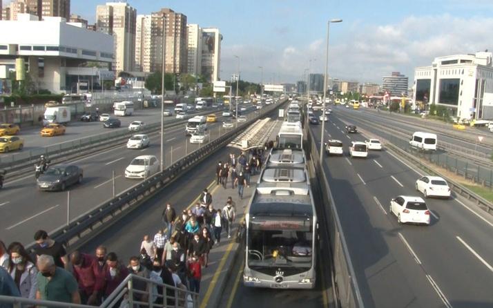 İstanbul trafiğinde yoğunluk yüzde 70'i geçti
