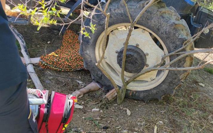 Balıkesir'de traktör kazasında kahreden görüntü: Durdurmak isterken canından oldu