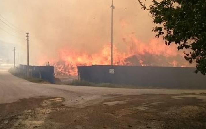 Afyonkarahisar'daki biyokütle enerji tesisinde ikinci yangın