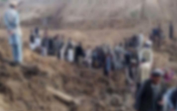 Tacikistan'da heyelan! 5 kişi hayatını kaybetti