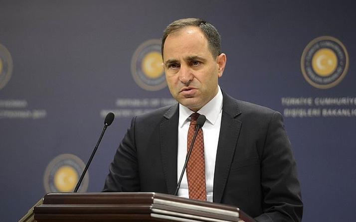 Dışişleri Sözcüsü Bilgiç'ten Avusturya'ya sert tepki: Külliyen reddediyor ve kınıyoruz
