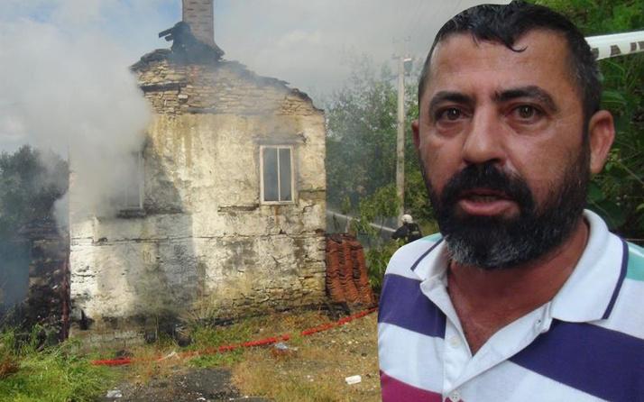 Antalya'da evini yakıp kullanılmaz hale getirdi! Giderken mahalleliye bakın ne dedi