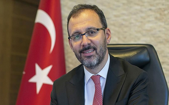 Bakan Mehmet Muharrem Kasapoğlu'ndan milli yüzücülere tebrik