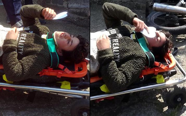 Zonguldak'ta kaza yapan gencin sözleri yürek burktu! Fotoğrafını çıkartıp öptü