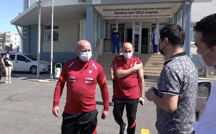Milli Takım'da 11 kişiye korona virüs aşısı yapıldı