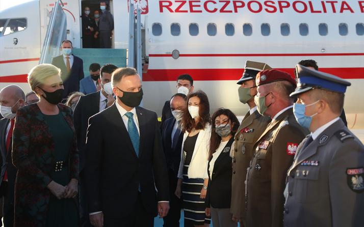 Polonya Cumhurbaşkanı Türkiye'de! Türkiye'den SİHA alacak ilk NATO ülkesi