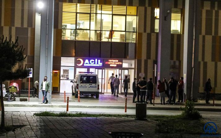 Van'da trafik kazasında yaralanan şahıs 4 sağlık çalışanını ve bir polisi darbetti