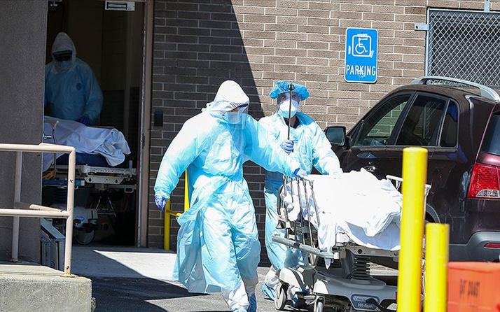 ABD'de durum fena! Kovid-19 nedeniyle son 24 saatte 2 bin 236 kişi hayatını kaybetti