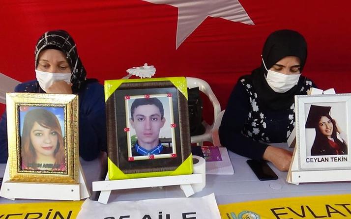 Evlat nöbetindeki aileler çocuklarını PKK'dan almakta kararlı