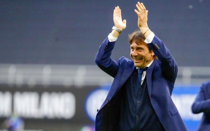 Inter'i zafere taşıyan Conte Real Madrid yolunda
