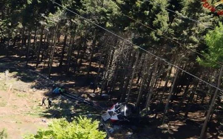 İtalya'daki teleferik kazası! 3 kişi gözaltına alındı