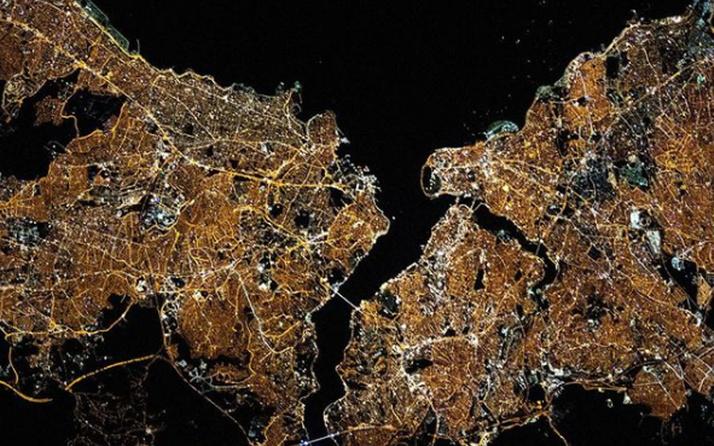 NASA'dan muhteşem İstanbul paylaşımı