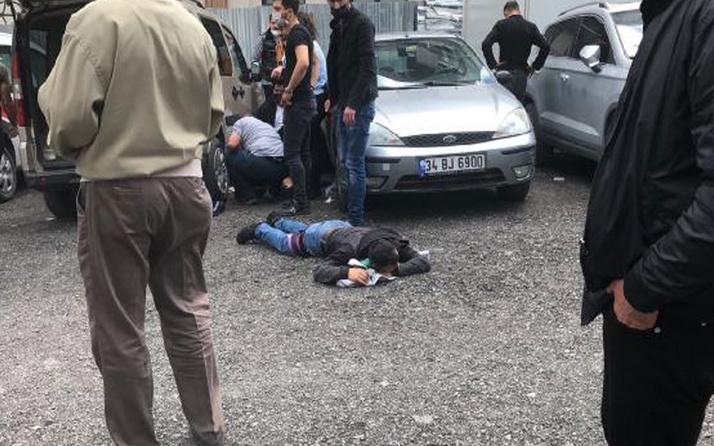 Bakırköy Adliyesi önünde silahlı saldırı! 2 yaralı var