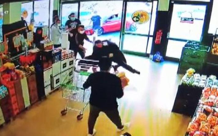 Sıra tartışmasında sivil 3 jandarmayı yaraladı! Küçükçekmece'de market canavarı serbest