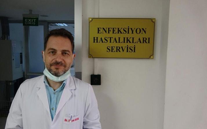 Türkiye'de ilk! Hem Covid-19 hem de KKKA hastası