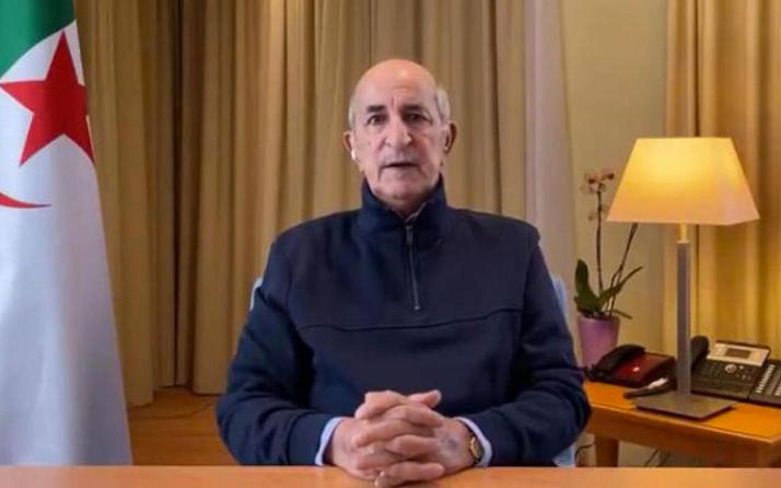 Cezayir Cumhurbaşkanı Tebbun'dan Fransa'ya çifte çağrı