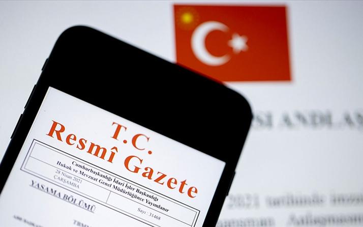 Cumhurbaşkanı Erdoğan imzasıyla atama kararları Resmi Gazete'de yayımlandı