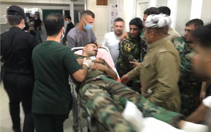 Duhok'ta terör örgütü PKK'dan Peşmerge güçlerine pusu: 5 ölü, 4 yaralı