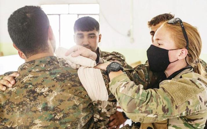 ABD, terör örgütü YPG'ye 'sıhhiyeci eğitimi' verdiğini açıkladı