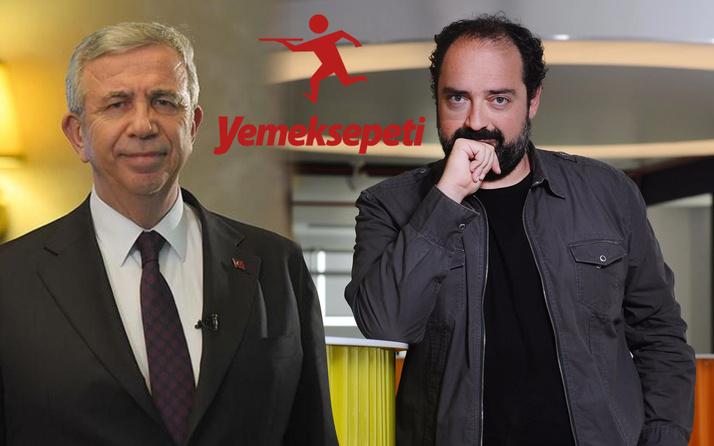 Mansur Yavaş'ın yeni projesi Yemeksepeti CEO'su Nevzat Aydın'ı kızdırdı