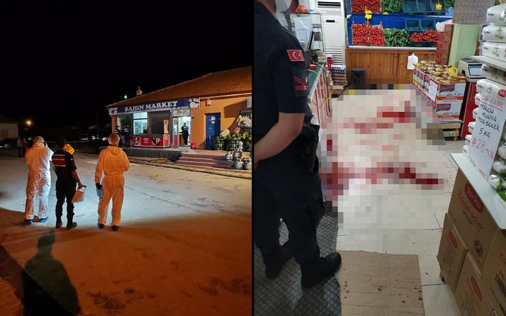 Konya'da markette çıkan silahlı kavgada 1 kişi öldü 5 kişi yaralandı