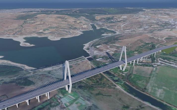 Kanal İstanbul'da ilk köprü belli oldu işte resmi