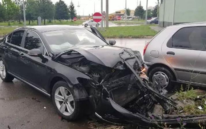 KSBÜ Rektörü Prof. Dr. Kavuncu, trafik kazasında yaralandı