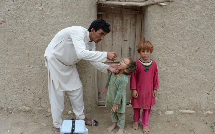 Afganistan'da çocuk felci aşılaması yapan görevlilere saldırı: 4 ölü 3 yaralı