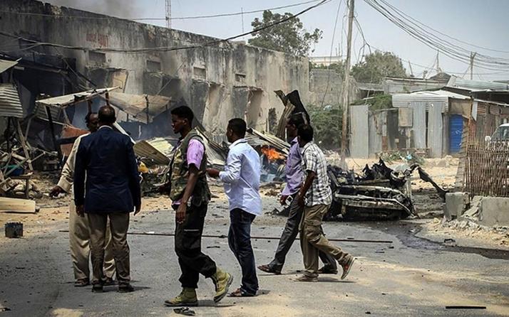 Somali'de askeri eğitim merkezinde düzenlenen intihar saldırısında 20 asker öldü