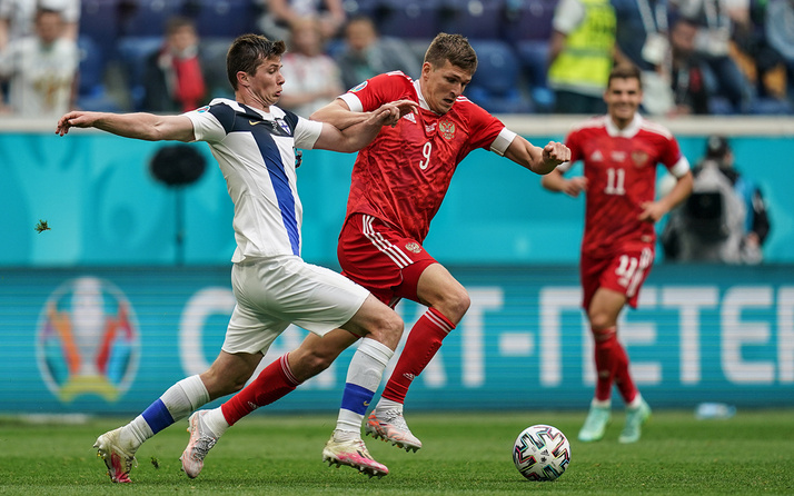 Rusya'ya Finlandiya karşısında tek gol yetti