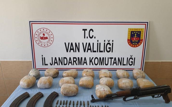 Van kırsalında PKK/KCK operasyonu: Uyuşturucu ve silah bulundu