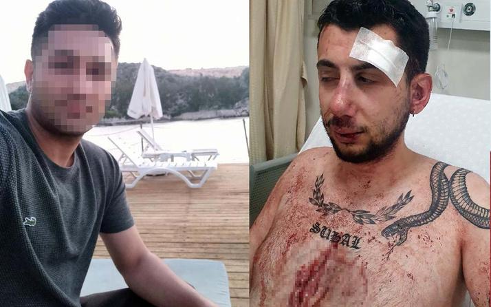 Konya'da eski sevgilisinin evini bastı karşılaştığı kişiye muştayla saldırdı