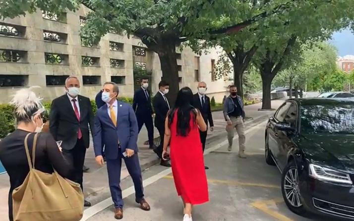 Süleyman Soylu, Sedat Peker'den 10 bin dolar maaş alan siyasetçiyi TBMM Başkanı Mustafa Şentop'a söyledi