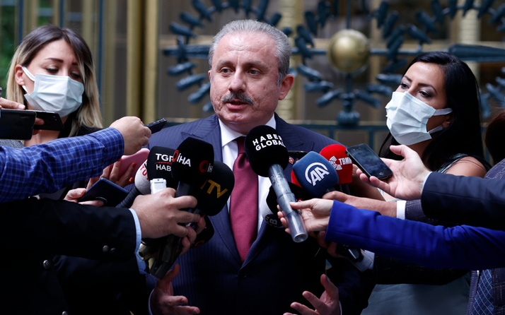 TBMM Başkanı Şentop'tan 'mafyadan 10 bin dolar alan siyasetçi' açıklaması