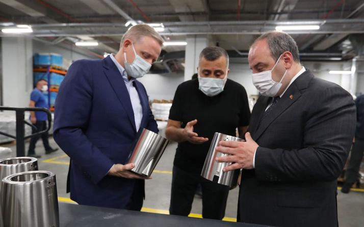 Bakan Mustafa Varank'tan Gümüşdağ'ın yeni tesisinde önemli açıklamalar