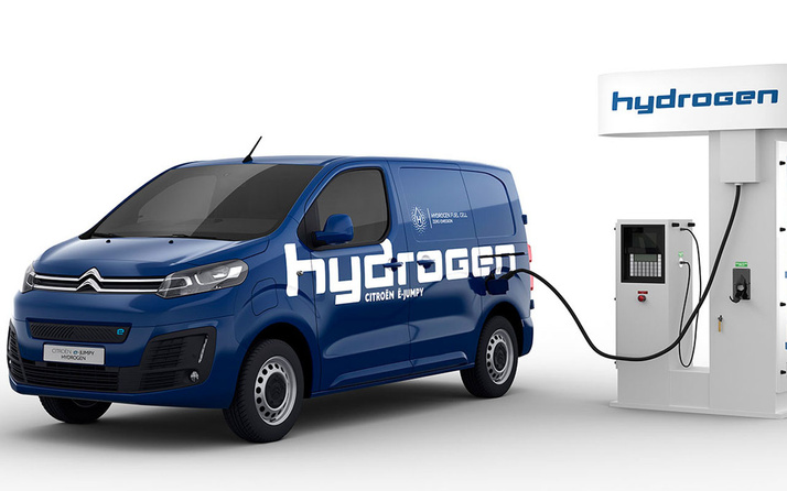 Citroen e-Jumpy Hydrogen ile fark rakiplerine fark atacak 400 km menzili aşıyor