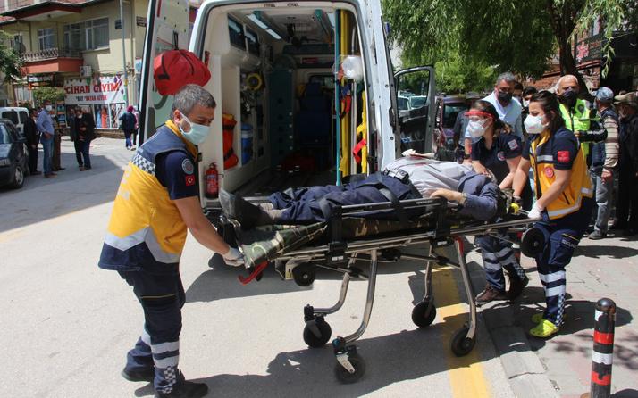 Bolu'da cadde ortasında dehşet saçtı! Kanlar içinde yere yığıldı